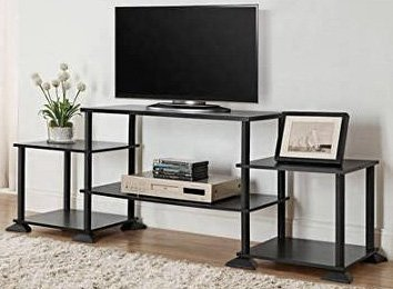 "Best Review Of 3-cube Media Entertainment Center for Tvs up to 40"" Plasma Television Cabinets F..."