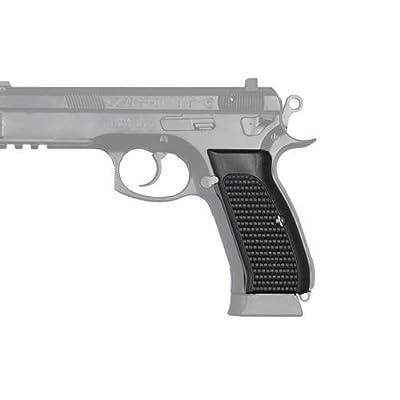 Hogue CZ-75/CZ-85 Grips, Piranha, G-10 Solid Black