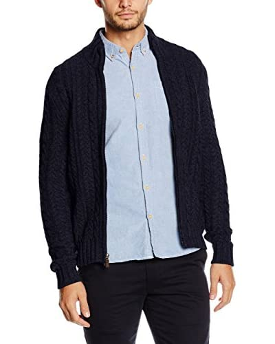 Dockers Wollcardigan Cable Full Zip Sweater