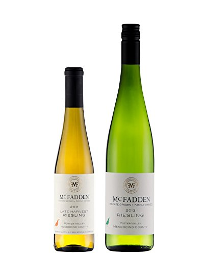 Mcfadden A Tale Of Two Rieslings Mixed Pack; 1 X 750 Ml, 1 X 375 Ml