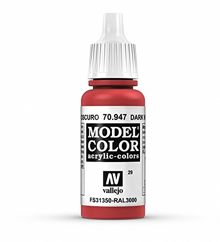 Vallejo Acrylic Paint, Vermillion