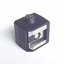 Qiorange Flash Hot Shoe Adapter PC Sync Socket for CANON NIKON