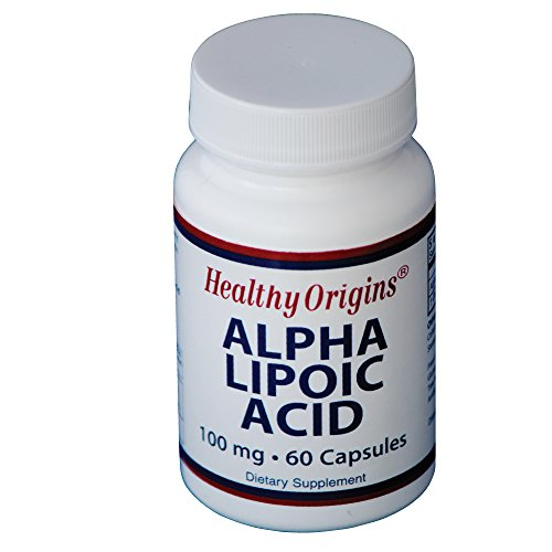 海外直送品Healthy Origins Alpha Lipoic Acid, 60 Caps 100MG
