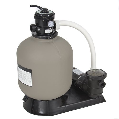 """Best Choice Products® Pro Above Ground Swimming Pool Pump System 4500GPH 19"""" Sand Filter w/ 1.0HP"""