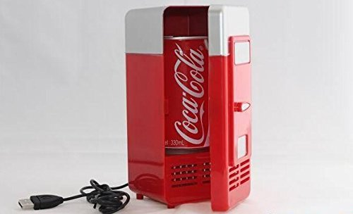 Generic Mini USB Fridge (RED) (Usb Microwave compare prices)