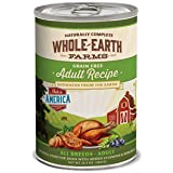 Whole Earth Farms Adult Grain Free Canned Dog Food