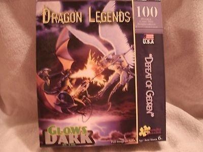 """Defeat of Gedren"" Puzzle (100 piece, glow-in-dark) - 1"