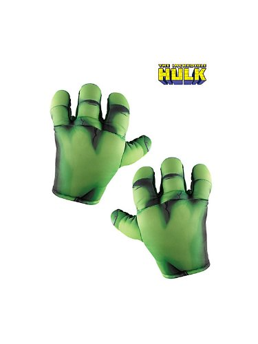 Big Soft Hulk Hands Costume Accessory