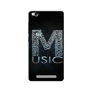 M FOR MUSIC BACK COVER XIAOMI REDMI 3S