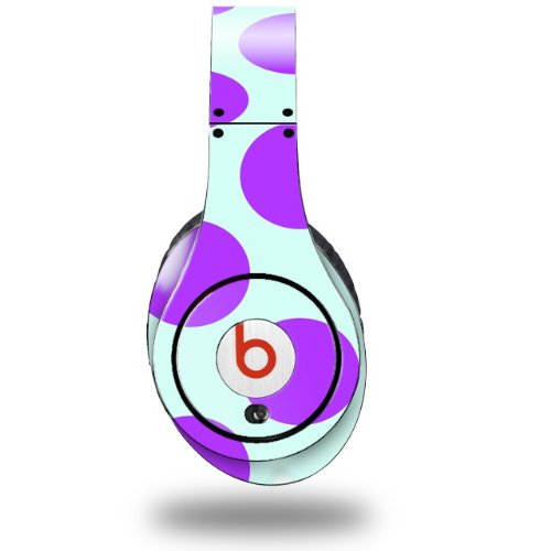 Kearas Polka Dots Purple And Blue Decal Style Skin (Fits Original Beats Studio Headphones - Headphones Not Included)