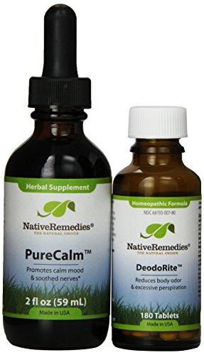 Native Remedies DeodoRite and PureCalm ComboPack