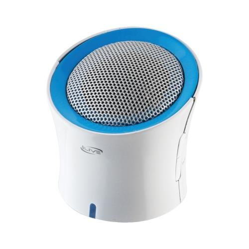 Ilive Isb03W Wireless Bluetooth(R) Speaker With 3 Color Rings