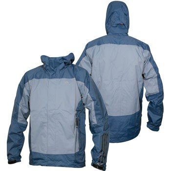 Adidas Climaproof Storm Mens Hiking Outdoor Rain Waterproof raincoat Jacket jackets Coat coats for men Blue Size XL 58
