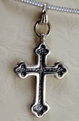 A Small Trinity Cross in Sterling Silver