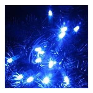 Click to read our review of Christmas Solar Lights: Solar Powered Christmas Lights String Light 24 LED Blue