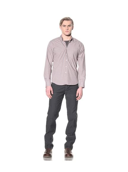 Steven Alan Men's Reverse Seam Button-Front Shirt