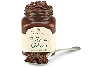 Stonewall Kitchen Fig Raisin Chutney, 8.5 Ounce