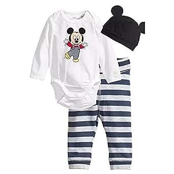 Cartoon Miky Hat+bodysuit+ Leggings Pants Clothes Set B13: Clothing