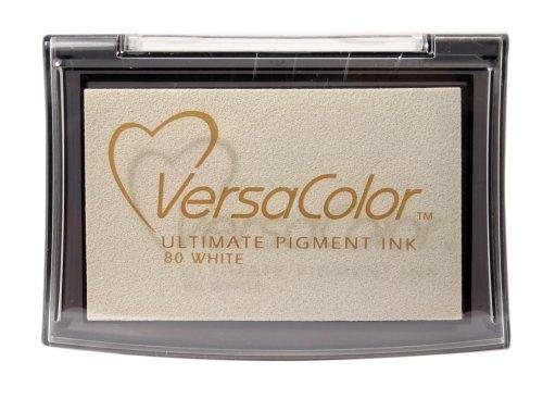 Tsukineko Full-Size VersaColor Ultimate Pigment Inkpad, White