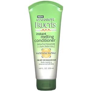 Garnier Fructis Instant Melting Conditioner, Moisture Works, for dry or damaged hair, 6.8 oz