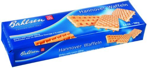 Bahlsen Hannover Wafer Cookies 5.3 OZ (Pack of 6)