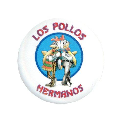 Breaking Bad Los Pollos Hermanos 1.25 Inch Button