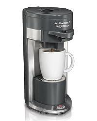 Hamilton Beach Single-Serve Coffee Maker, FlexBrew (49999A) (Discontinued Model) by Hamilton Beach