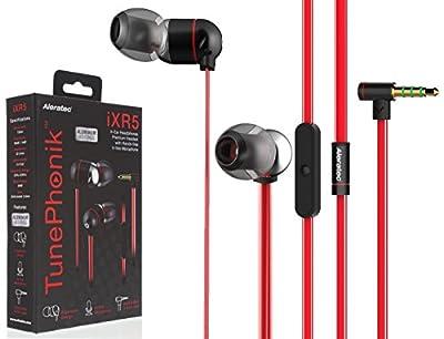 Aleratec TunePhonik iXR5 Stereo In-Ear Headphones with Microphone Premium Headset