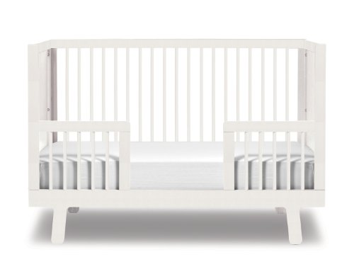 Oeuf Sparrow Conversion Kit for 4SPCR Sparrow Cribs, White (Discontinued by Manufacturer)