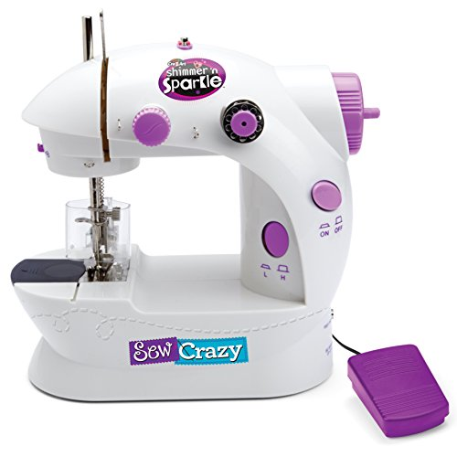 Shimmer N Sparkle - Sew Crazy Sewing Machine (Toys Sewing Machine compare prices)