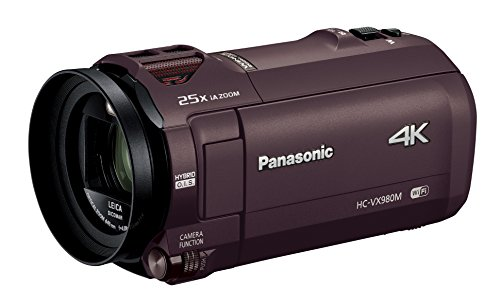 Panasonic デジタル4Kビデオカメラ VX980M 64GB あとから補正 ブラウン HC-VX980M-T