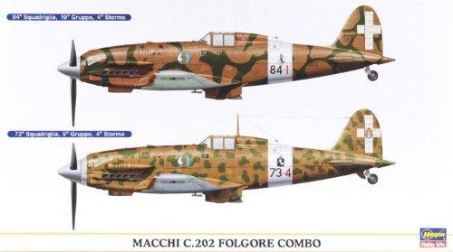Hasegawa Macchi C.202 Folgore Combo Model Kit