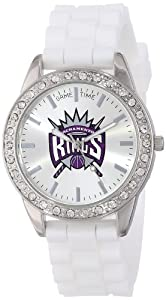 Game Time Ladies NBA-FRO-SAC Frost NBA Series Sacramento Kings 3-Hand Analog Watch by Game Time