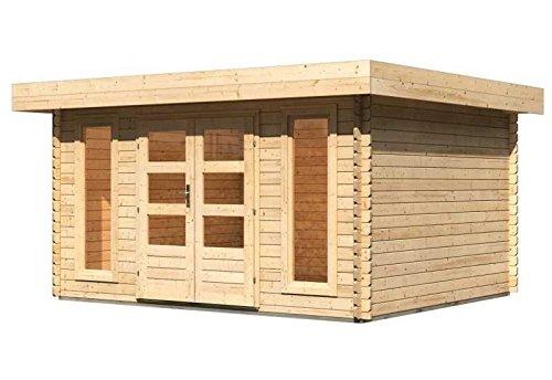 karibu gartenhaus aramir 1 blockbohle 28mm ean. Black Bedroom Furniture Sets. Home Design Ideas