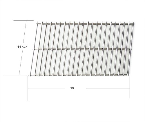 91001 - Arkla, Broilmaster, Charbroil, Charmglow, Fiesta, Kenmore, Patio Kitchen, Sterling, Sunbeam And Turco Gas Grill Stainless Steel Grate front-131604
