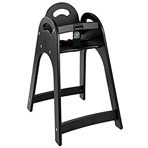 Designer High Chair Color: Black