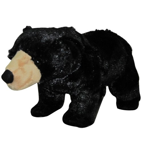 "Nic Nac Plush Black Bear 13"" - 1"