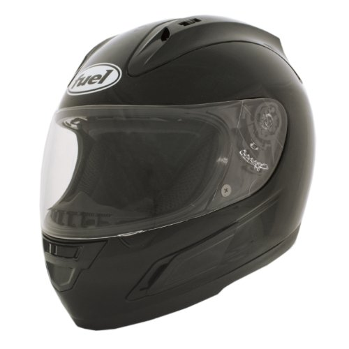 Fuel Gloss Black Large Viper Full Face Helmet