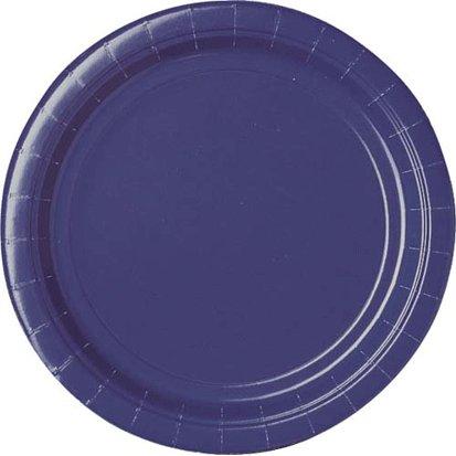Purple Dinner Plates 24ct
