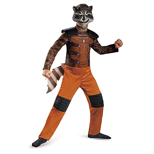 Disguise Marvel Guardians of The Galaxy Rocket Raccoon Classic Boys Costume