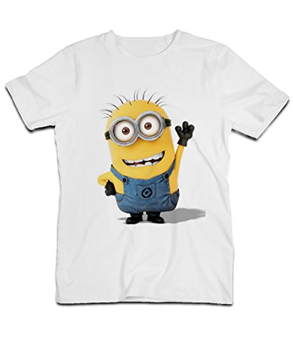 TeeFashion-Camiseta-para-hombre-Blanco-blanco-Medium