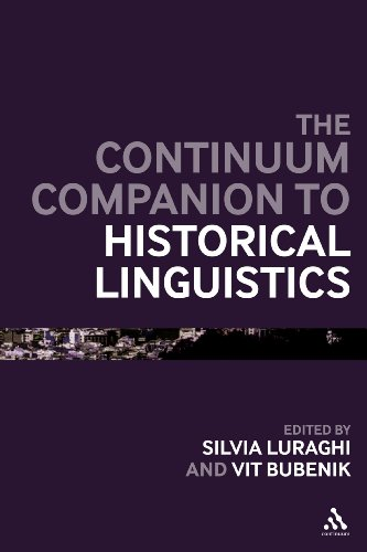 The Continuum Companion to Historical Linguistics (Bloomsbury Companions)