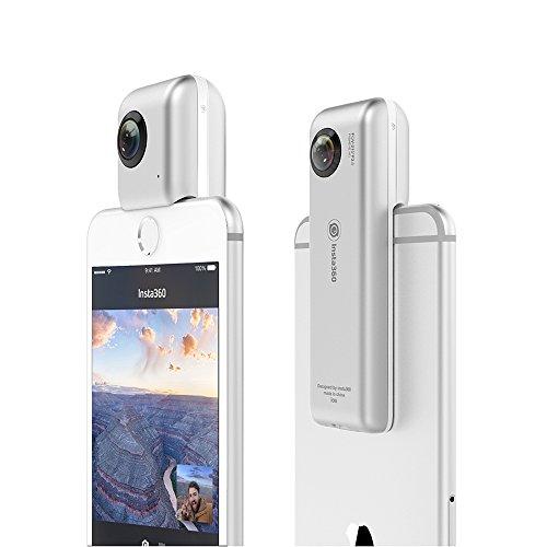 「INSTA360 Nano」iPhoneに取り付けられる360度全天球カメラ