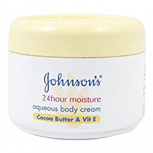 Johnsons Body Care 24 Hour Aqueous Cream 350ml - Cocoa Butter & Vitamin E