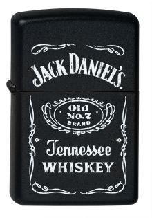 Zippo 2000409 accendino Jack Daniel's Old No 7 Brand