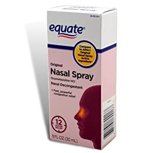 Equate - Nasal Spray, Original, 1 oz (Compare to Afrin)