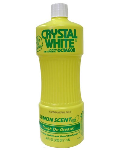 Octagon Crystal White Liquid 40 OZ