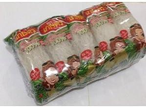 Kaset Bean Thread Glass Noodles 141 Oz 40 G x 10 From Thailand  BIG PACK by Kaset