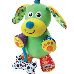 Pupsqueak Dog Take Along Toy Early Development Toy Baby Rattle Children Hanging Toy Product front-1036982