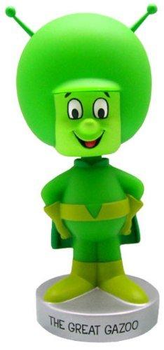 Buy Low Price Funko Wacky Wobblers Hanna Barbera Gazoo Bobble Head by Funko Figure (B000HGW5G4)